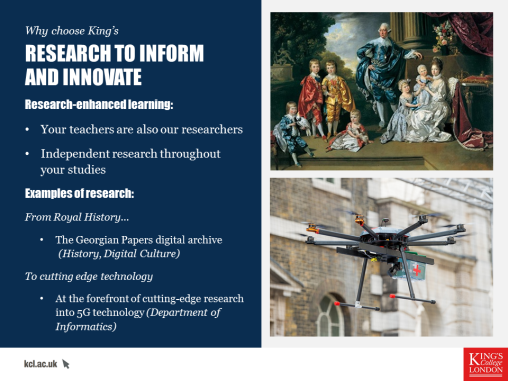 Georges and Drones